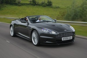 Little road, big car: The Aston Martin DBS Volante in all its glory