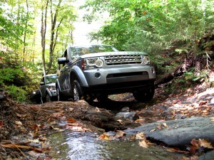 Land Rover LR4: On the hunt