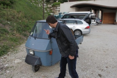 Italy's worst vehicle. Actually, the worst vehicle ever. Anywhere.